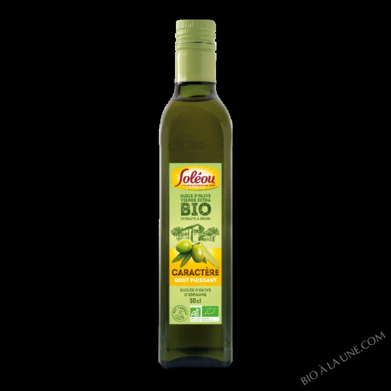 Huile d'Olive BIO Caractère - 50cl