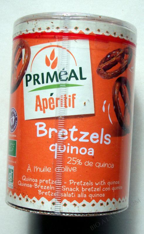 Bretzels au Quinoa