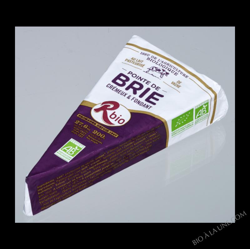 BRIE POINTE LAIT PASTEURISE - 200G