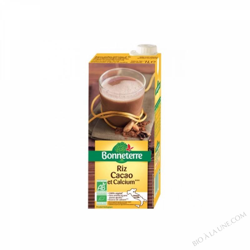 Boisson Riz Cacao Et Calcium 1L
