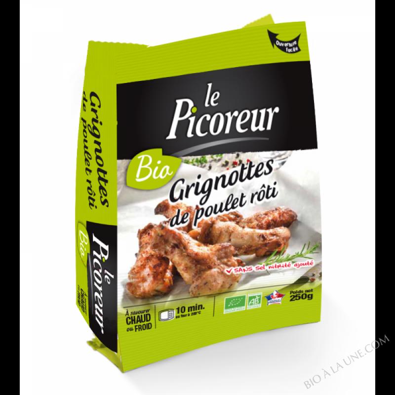 grignottes de poulet rôti 250 g