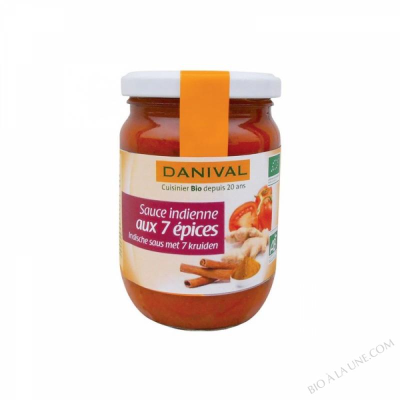 Sauce indienne aux 7 epices 210g