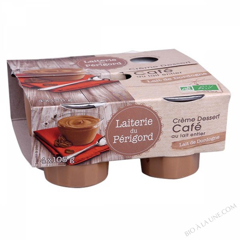Crème dessert au café - 4x105g