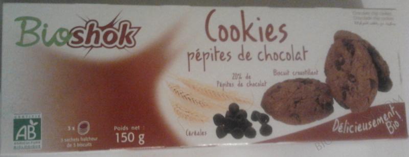 COOKIES PÉPITES DE CHOCOLAT- 150 G