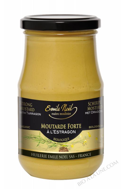 Moutarde de Dijon à l'estragon bio - 200g