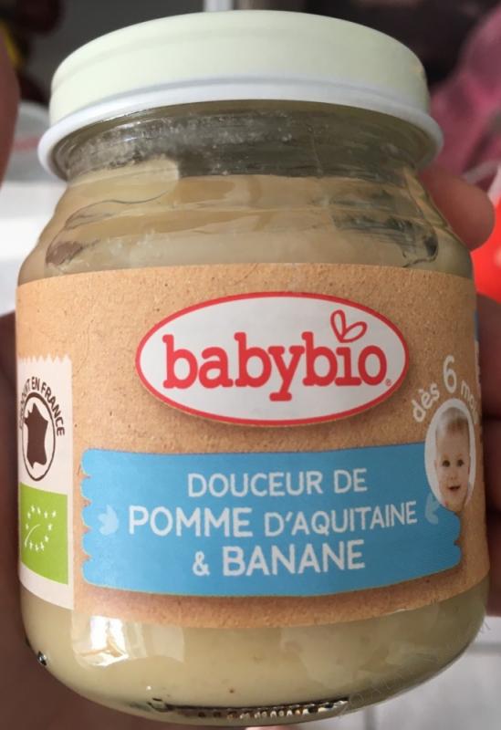 DOUCEUR DE POMME BANANE
