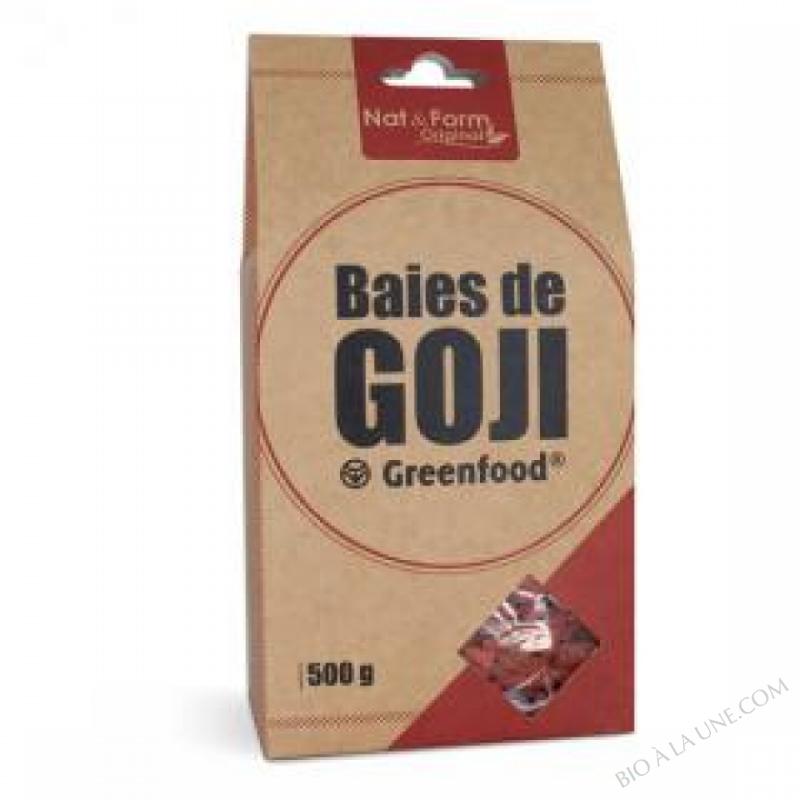 Baies de Goji Green Food en Sachet de 500g