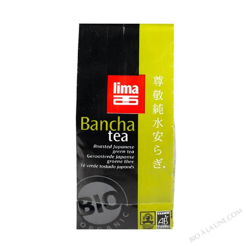 The vert japonais Bancha Tea 75g
