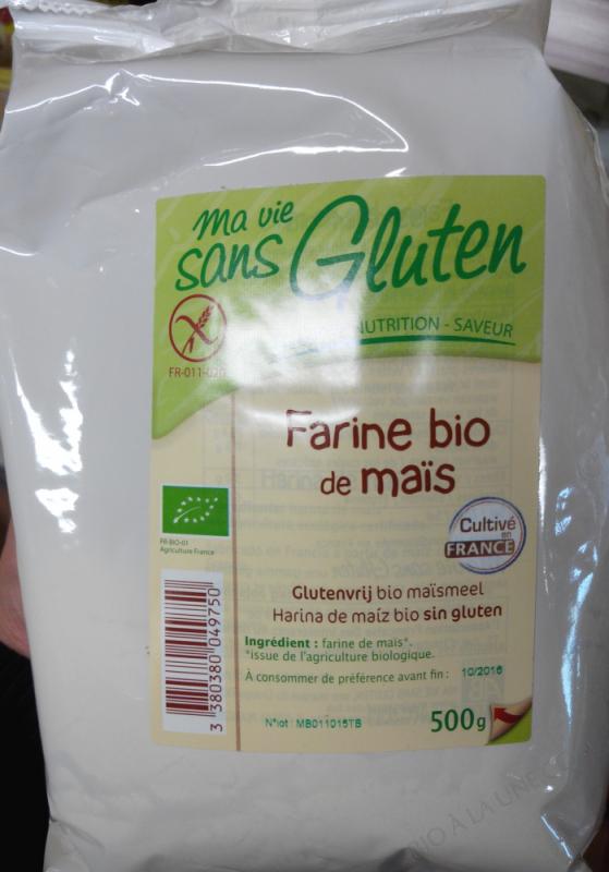 Farine de Mais Sans Gluten