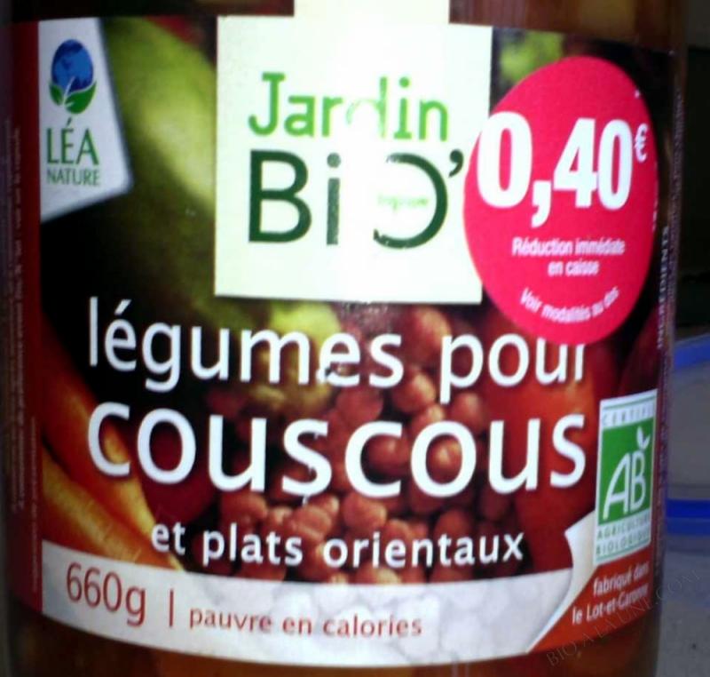 Legumes pour couscous 660gr
