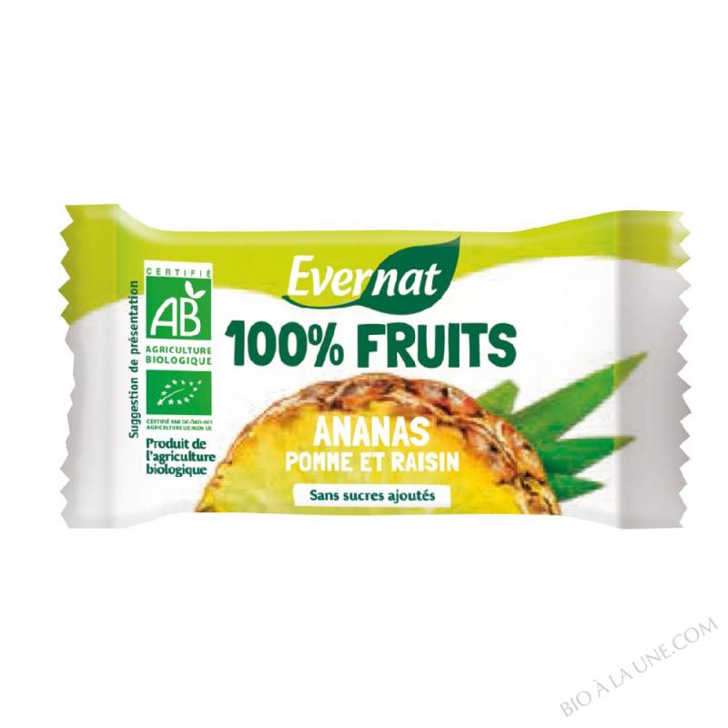 Barre 100% fruits ananas 30g
