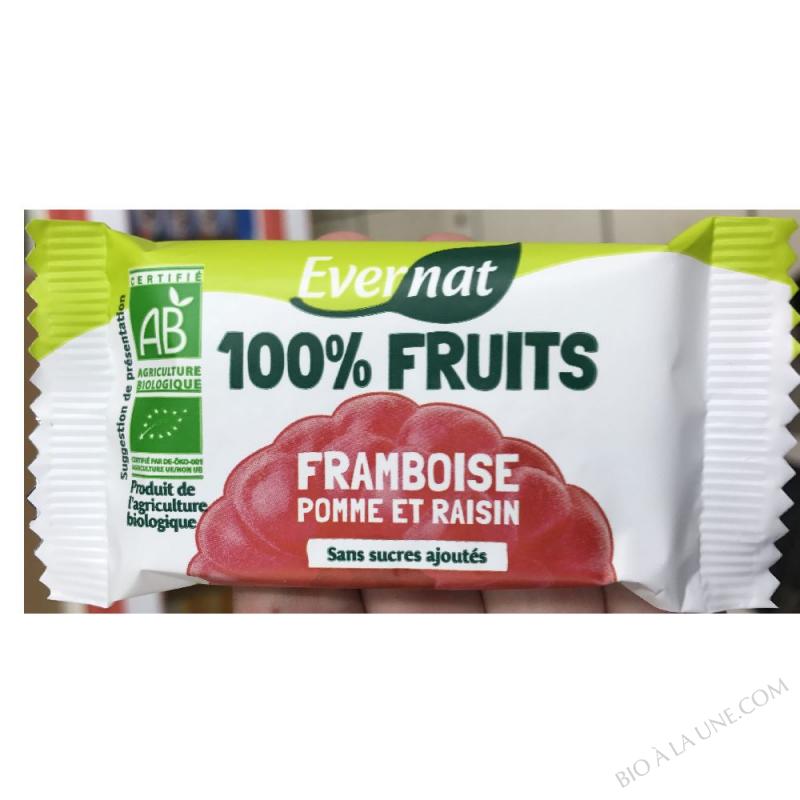 Barre 100% fruits framboise 30g