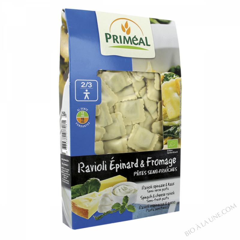 ravioli épinard – fromage  - 250 g