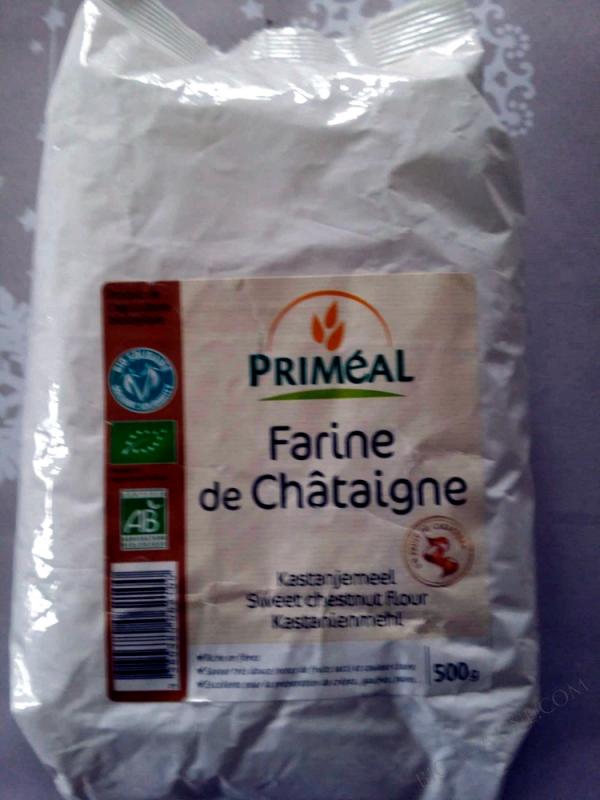 Farine de Châtaigne - Origine France 500g
