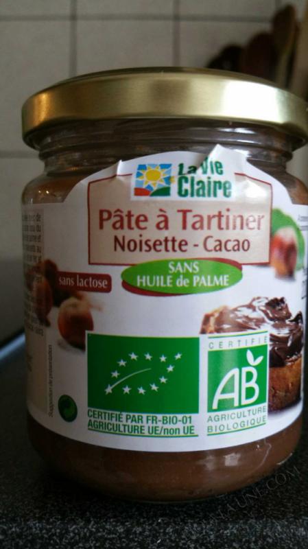 Pâte à tartiner noisette - cacao- 220 g