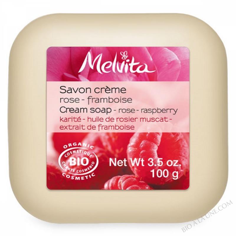 Savon Crème Rose-Framboise - 100g