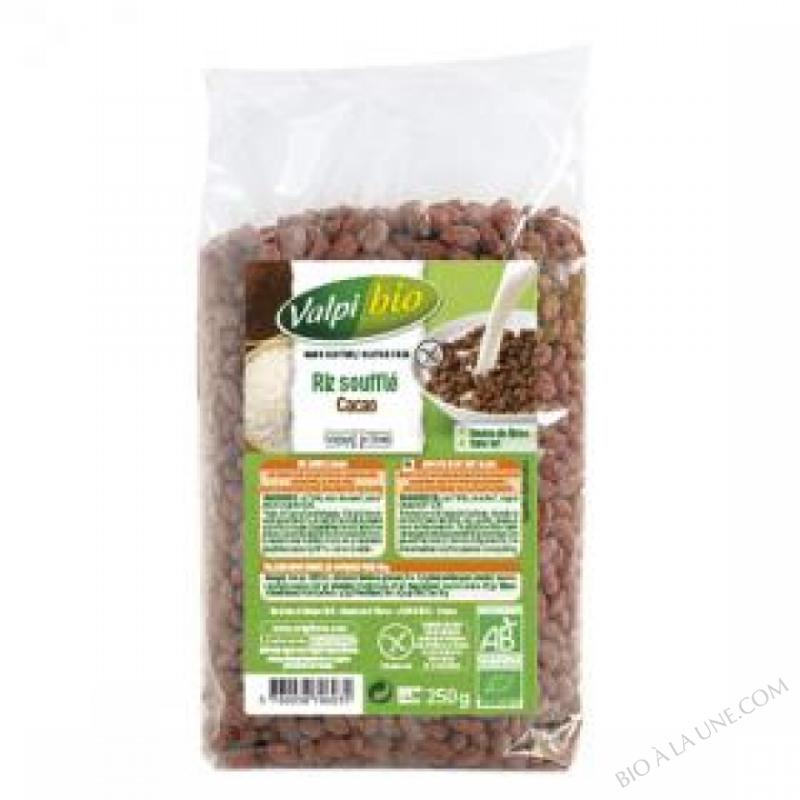Riz souffle au cacao Bio 250g
