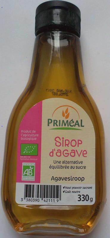 Sirop d'Agave bio 330g