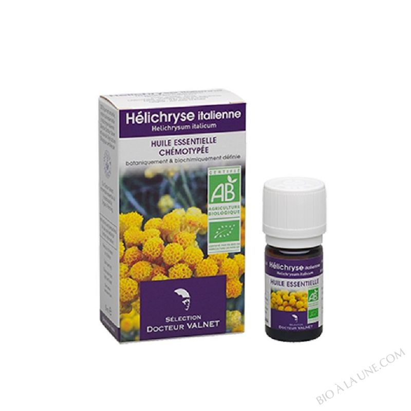 Huile essentielle Hélichryse Bio - 5ml