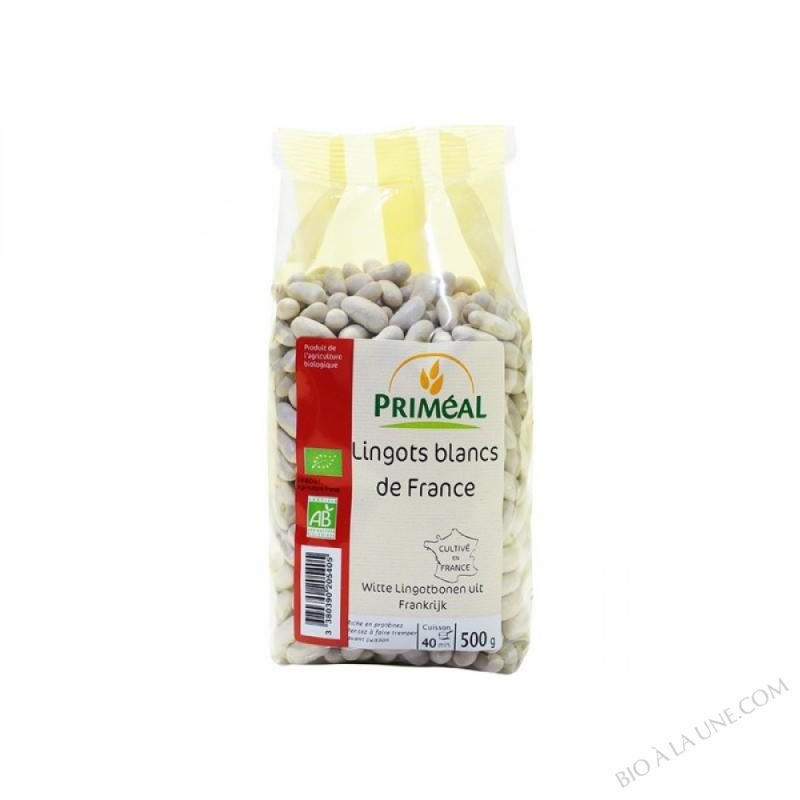 Haricots Lingots Blancs de France 500 g