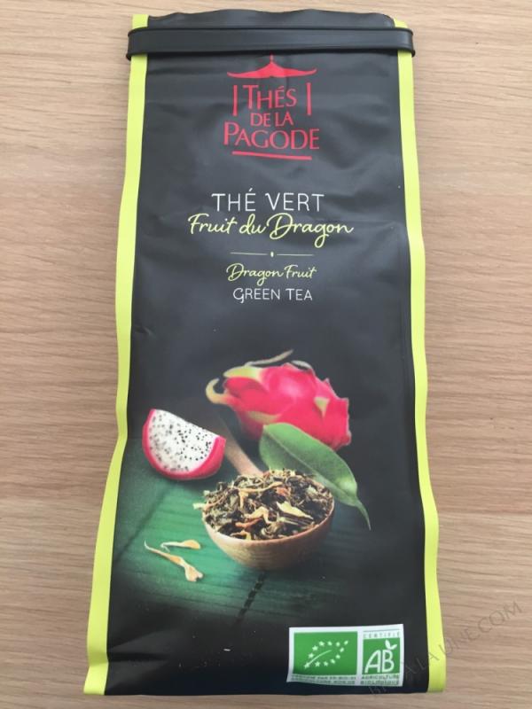 Thé vert Fruit du Dragon bio - 100g