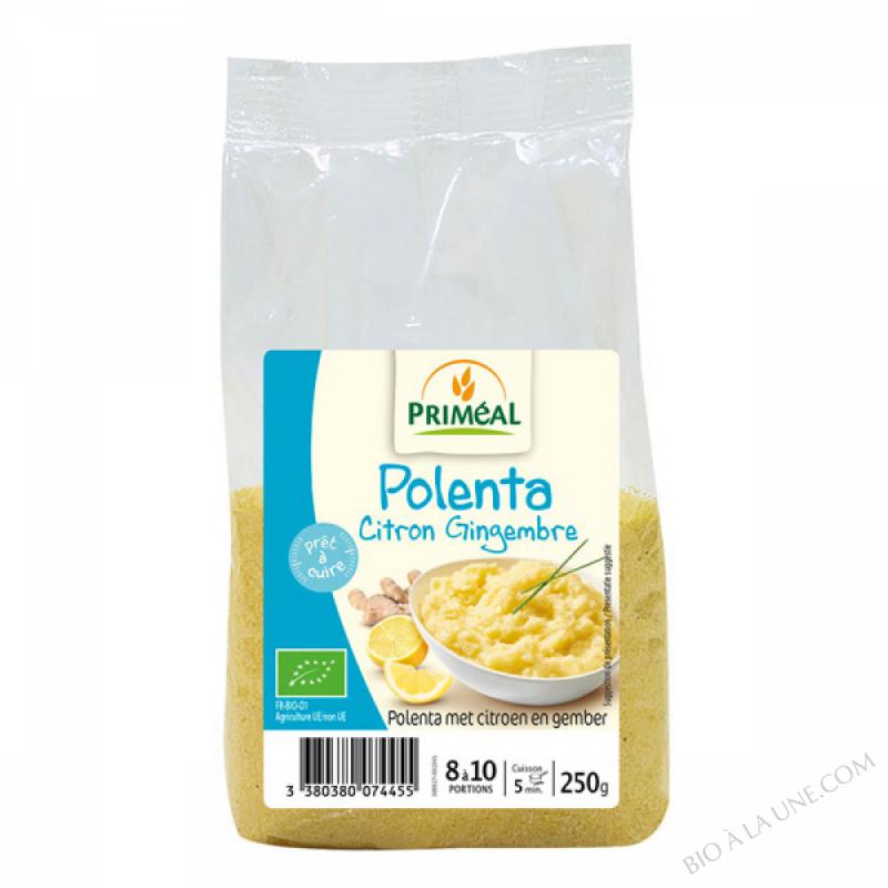 Polenta citron gingembre - 250g
