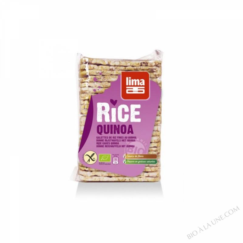 Galettes fines de riz au quinoa 130g