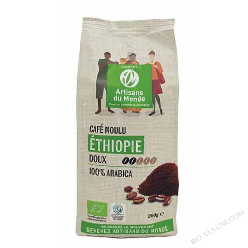 CAFE ETHIOPIE 250G ARTISANS DU MOND