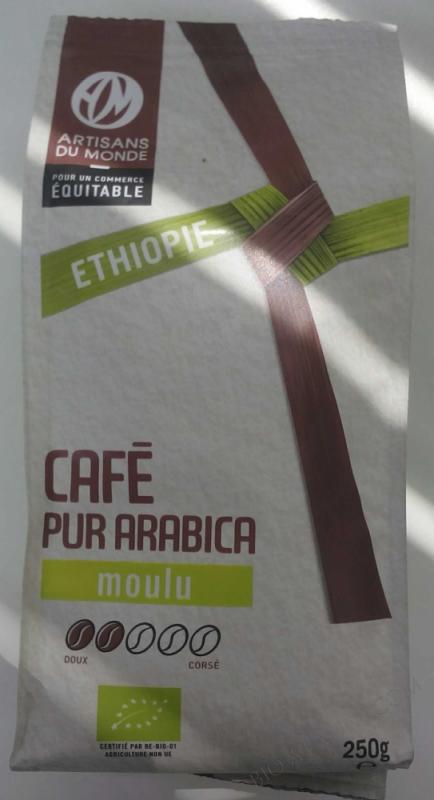 CAFÉ PUR ARABICA MOULU- 250 G