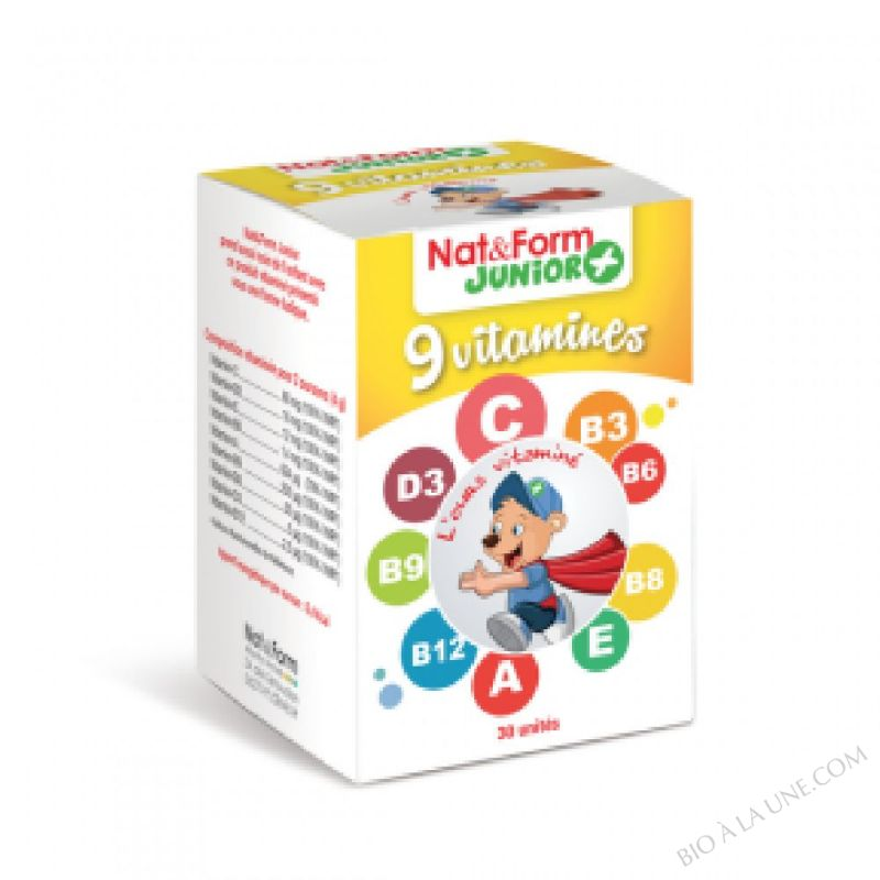 Ours+ 9 vitamines 30 oursons