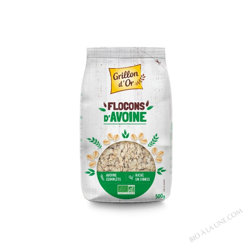 Flocons d'avoine 500g