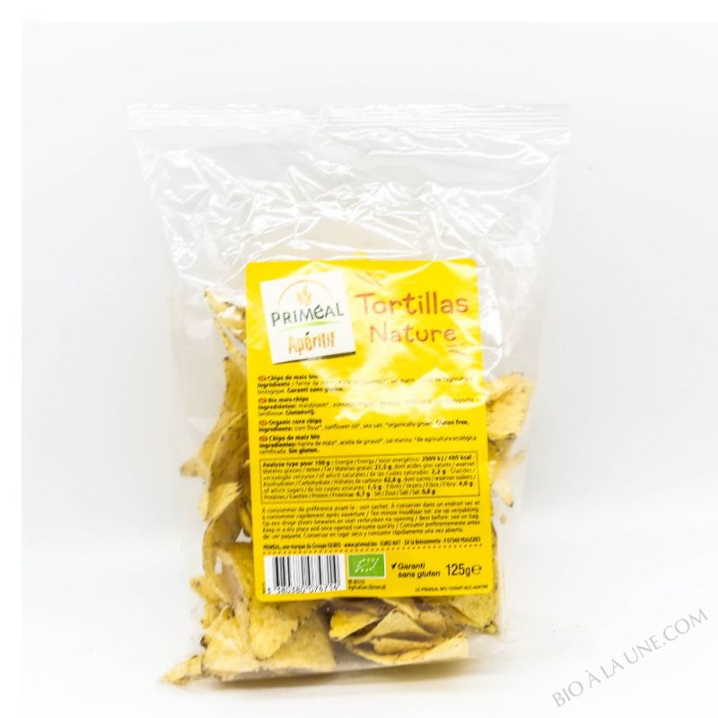 Tortillas nature - 125g