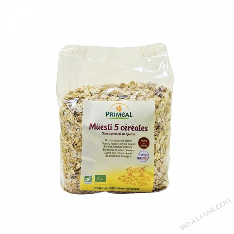 Muesli aux 5 cereales 1 kg