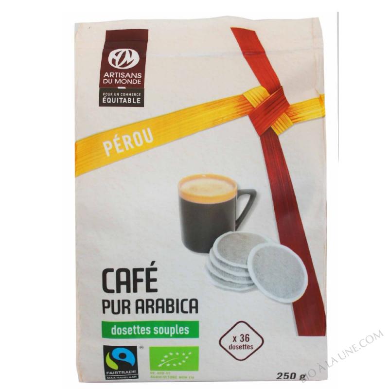 CAFE PEROU DOSETTES X36 ARTISANS DU