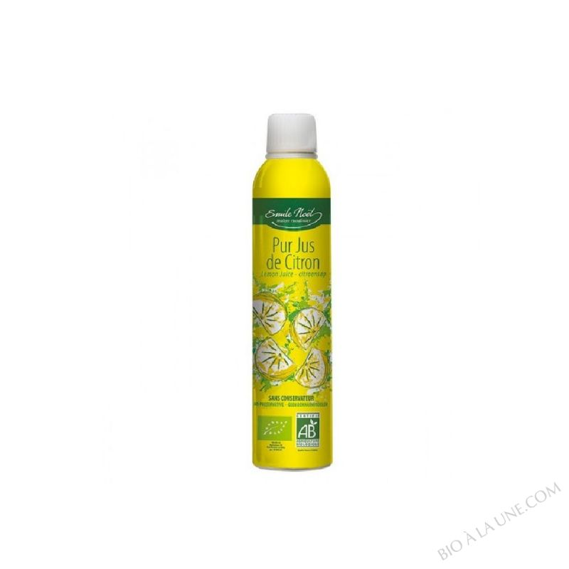 Jus de citron bio - 250ml
