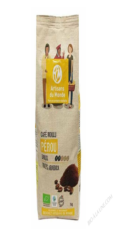 CAFÉ PÉROU MOULU - 1KG