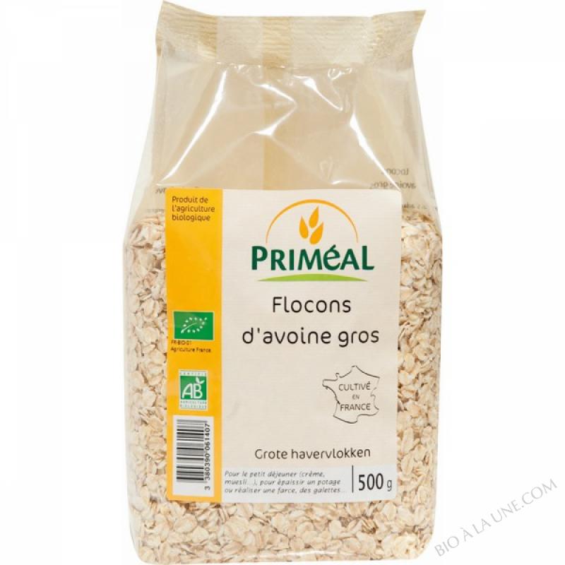 Flocons d'Avoine Gros 500 g
