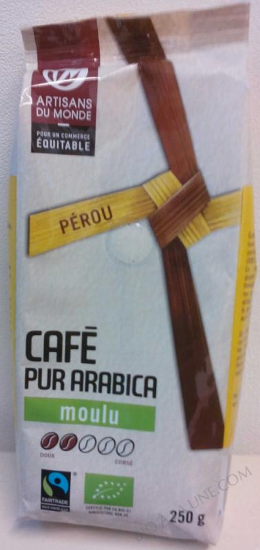 CAFÉ PUR ARABICA- 250 G