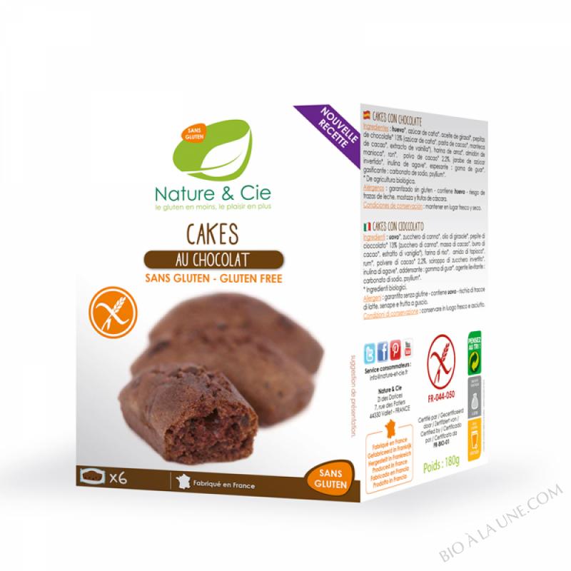CAKE CHOCOLAT 200G NATURE & COMPAGNIE