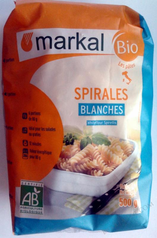 Spirales blanches - 500g