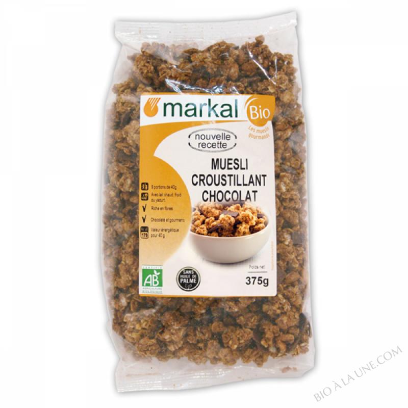 Muesli croustillant Chocolat - 375g