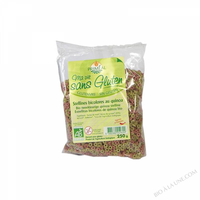 Pâtes Stellines bicolores au Quinoa