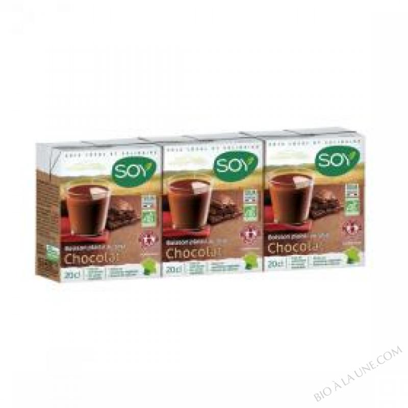 Boisson Soja Chocolat 3 x 20cl