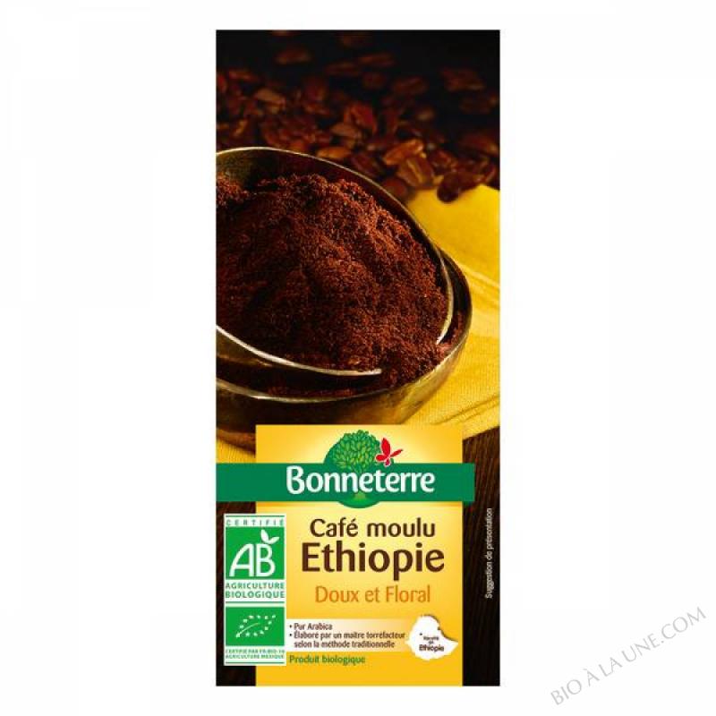 CAFE MOULU ETHIOPIE PUR ARABICA - 250 G