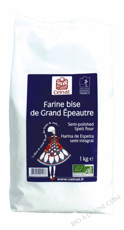 Farine bise de Grand Epeautre