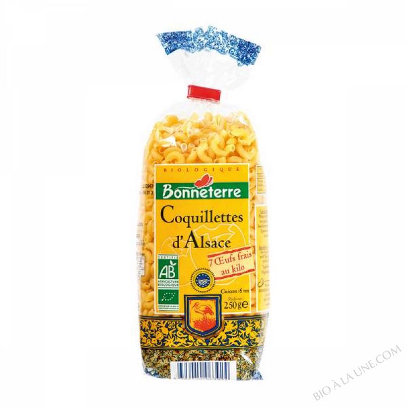 COQUILLETTES D'ALSACE AUX ŒUFS - IGP - 250 G