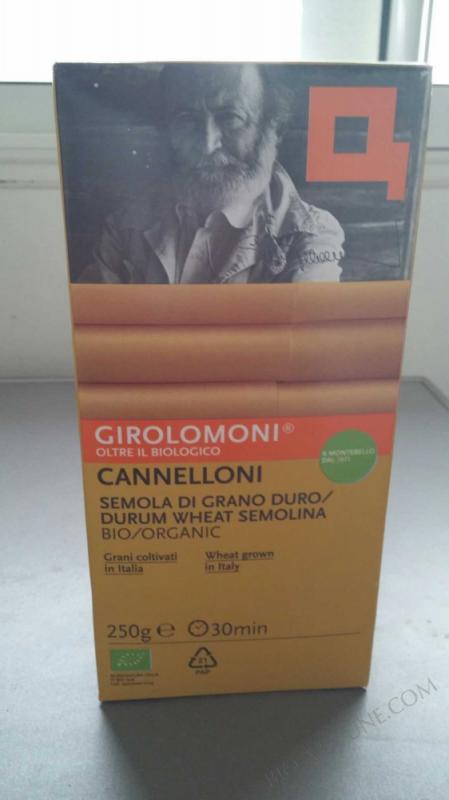 CANNELLONI 250G ALCE NERO