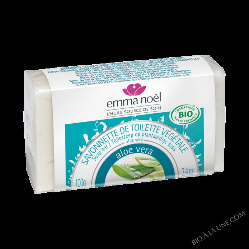 Savon végétal Aloé Vera bio - 100g