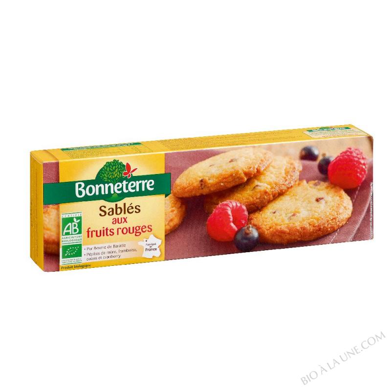 Sablés aux Fruits Rouges (pur beurre)