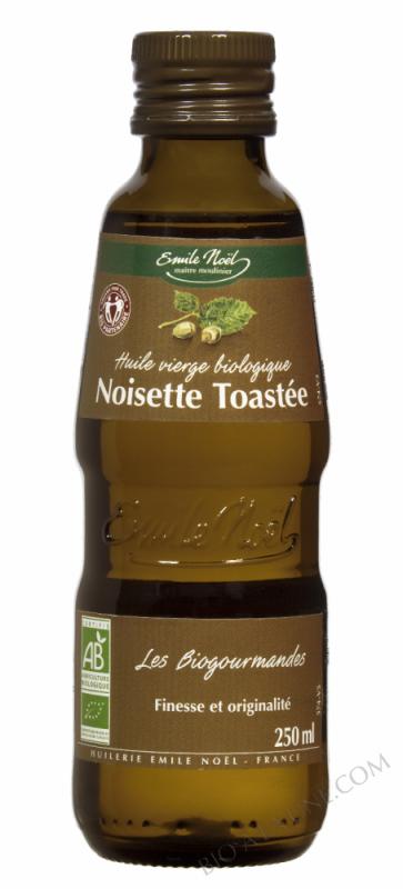 Huile vierge de noisette bio toasté - 250ml